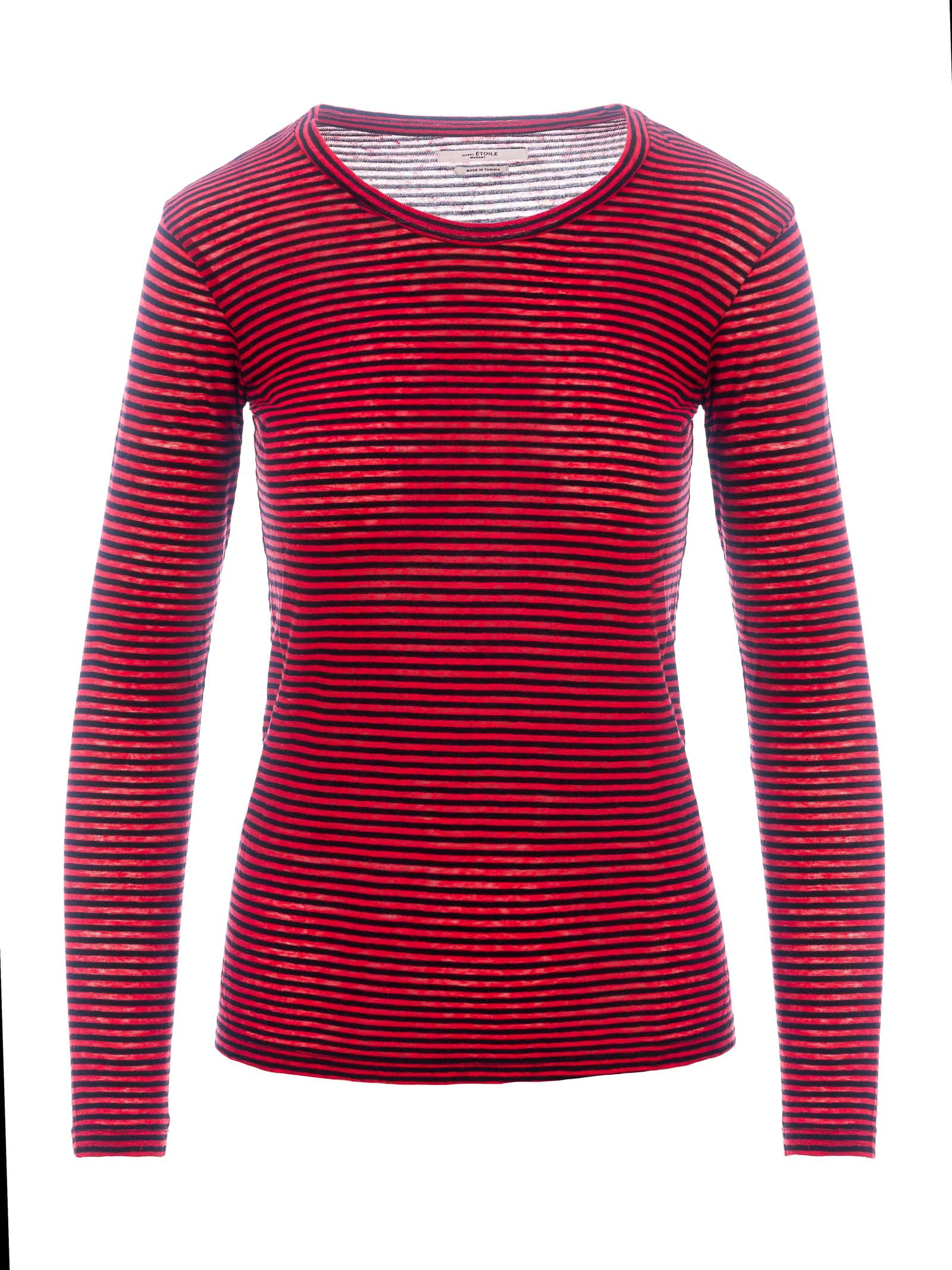 Details about Isabel Marant Women's Clothing T Shirts & Tops TS040400M006E | Red Black