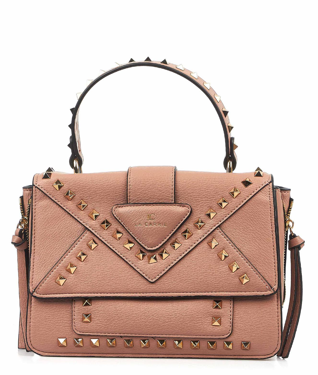MOSCHINO Women/'s Bags Cross Body Rose Leather NIB Authentic