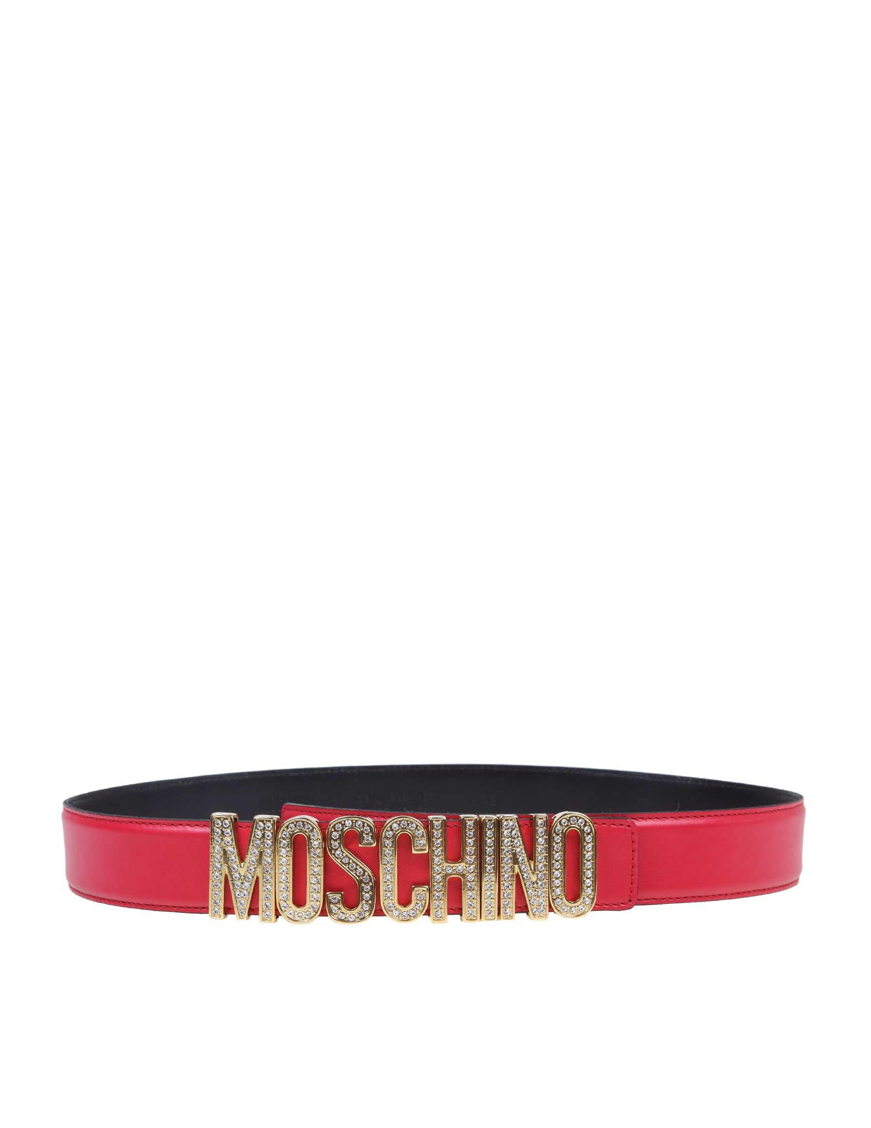 Details about MOSCHINO Women's Belts Fuchsia NIB Authentic