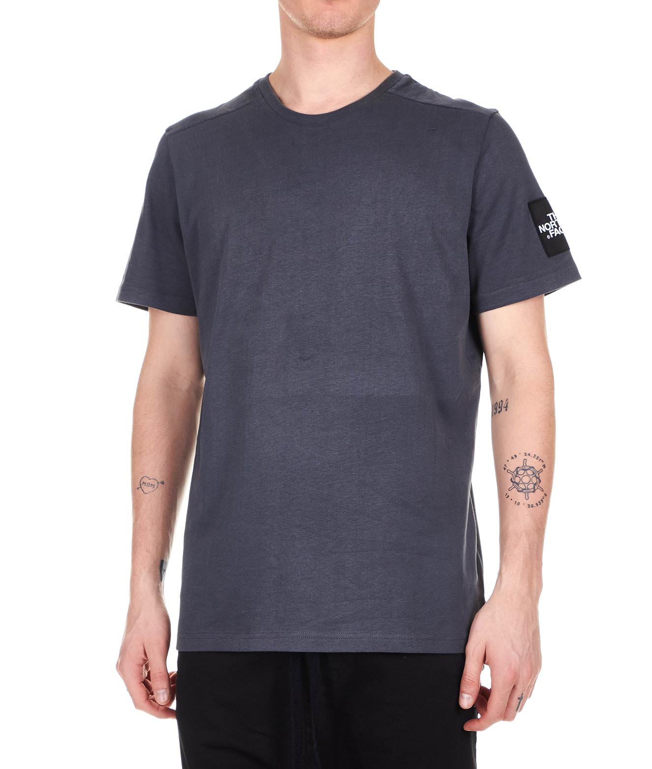 The-North-Face-Men-039-s-Clothing-T-Shirts-amp-Polos-T93BP70C5-Petrol